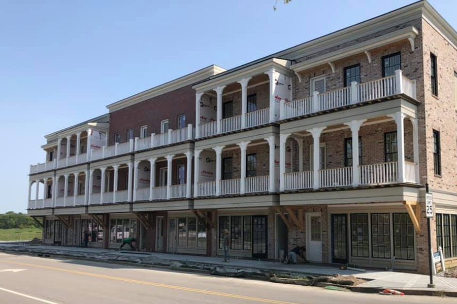 Franklin TN - Front View of Westhaven Office On A Clear Sunny Afternoon